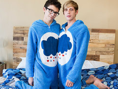 They view so juicy and virginal down their fantastic onesies, but these dudes know how to reckoning their knobs!