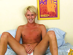Angel Lucas Plays wih his Fuck-stick