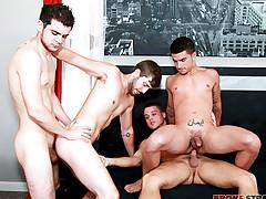 Fuck-a-thon w Vadim, Brandon, Zeno, Blake